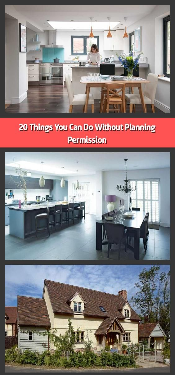 20 Things You Can Do Without Planning Permission There Are Many Home Improvements You Can Make To Your Home Wit In 2020 Planning Permission Building A House Cladding