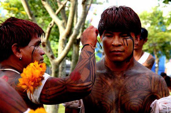 Índios etnia Kamayurá