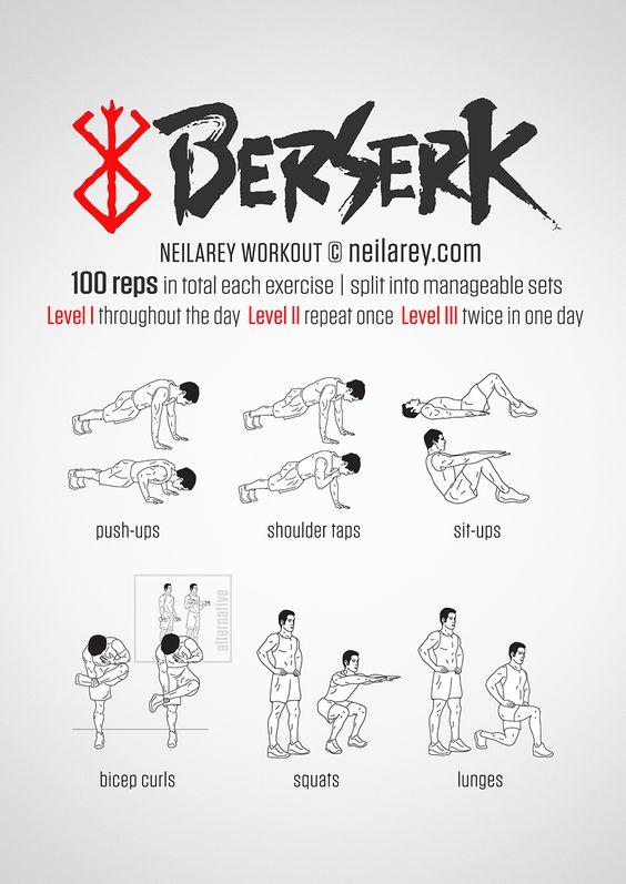 Berserk Workout
