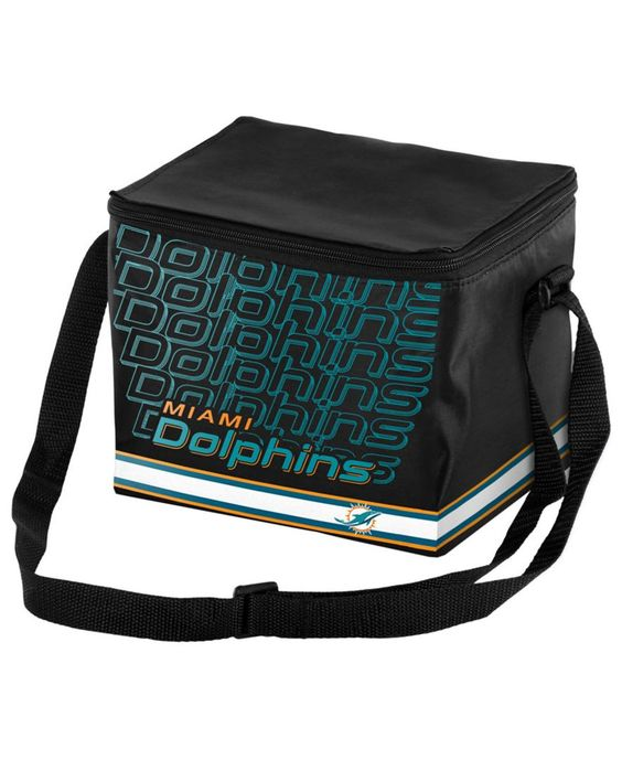 Forever Collectibles Miami Dolphins 6pk Lunch Cooler