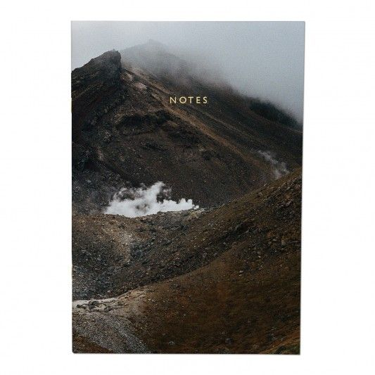 Mountain Fog A4ish Notebook at http://www.ohhdeer.com: