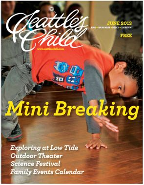 Mini Breaks Dancing (International District): For 2-6 year olds; Classes taught by the b-girl Anna Banana Freeze - former preschool teacher and member of the world-famous, award winning dance crew, Massive Monkees!
