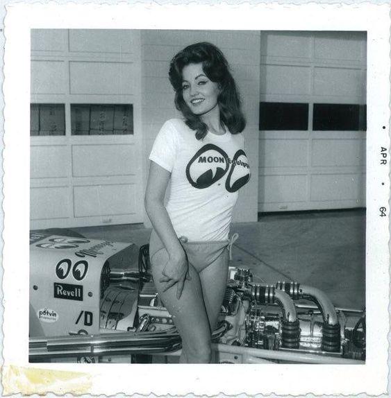 Moon Eyes Dragster 1964 Vintage Drag Racing Pinterest