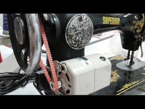 Poner Motor A Maquina De Coser Antigua - Reseñas Motor