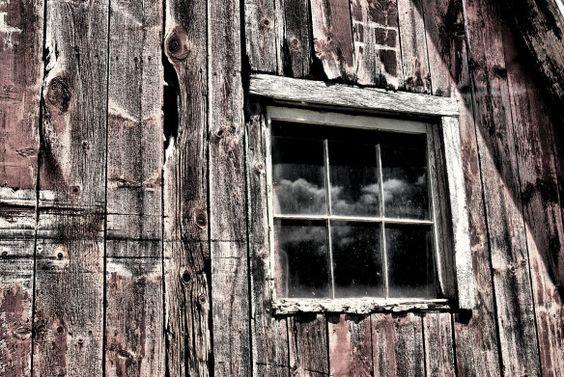 nuvens em minha janela
