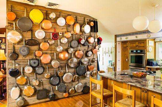 Muitas ideias & inspirações para decorar sua cozinha #gourmet. Confira >> http://montacasa.gudecor.com.br/blog/cozinha-gourmet-ideias/