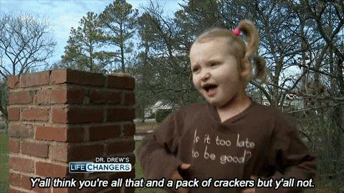 This child.