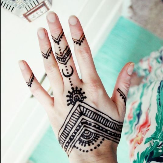 Simple Henna Designs Easy Photo 1 Henna Tattoo Hand Simple Henna Tattoo Henna Tattoo Designs
