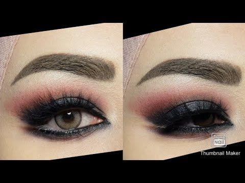 شرح لوك السموكي بالتفصييييل لجميع انواع العيون وخاصة الصغيرة والمبطنة Youtube Glam And Glitter Makeup Lipstick