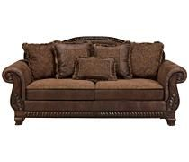 sofas couches bradington truffle sofa ashley furniture