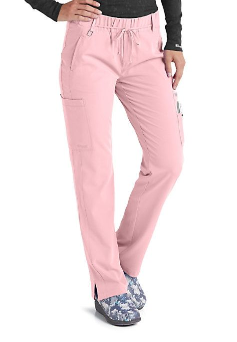 The Amazing Grey S Anatomy Signature Olivia 6 Pocket Scrub Pants Are Made With All Of The Style And Quality That You Ve C Pantalones De Medicos Matorrales Ropa