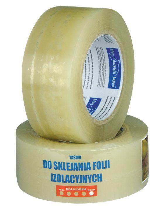 Tasma Do Folii Izolacyjnych Blue Dolphin 48mmx50m 6600644183 Oficjalne Archiwum Allegro Dolphins Tape Blue