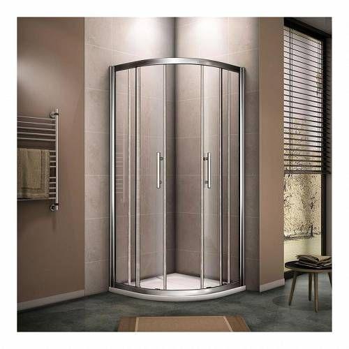 Aica Sanitaire 120x90x190cm Aica Quadrant Shower Enclosure 8mm