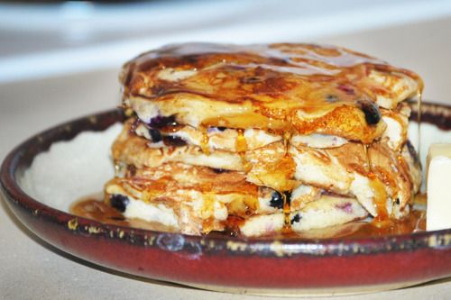 Blueberry Buttermilk Pancakes- so easy and simply heavenly. Share ...