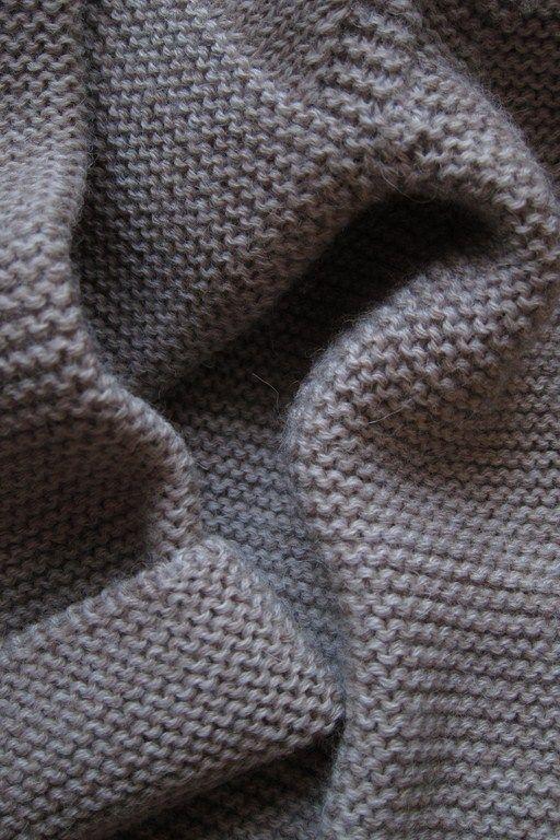 my cosy link stitch jacket