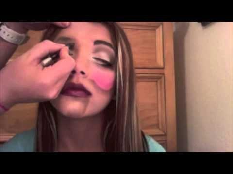 HALLOWEEN REQUEST: Ventriloquist doll/puppet makeup | Halloween ...