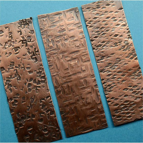 Reserve For Cindy Handmade Hammered Copper Sheet Metal