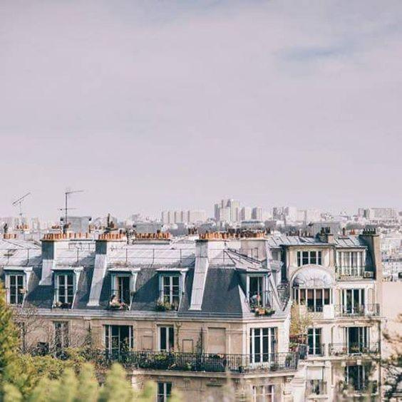 Paris par dessus les toits #rooflovers