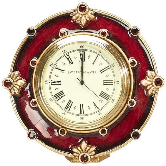 Robert Mini Clock From Jay Strongwater Killer Clocks