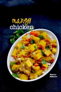 Mango Chicken - Flavour and Savour