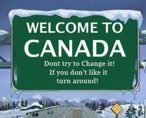 Welcome to Canada: