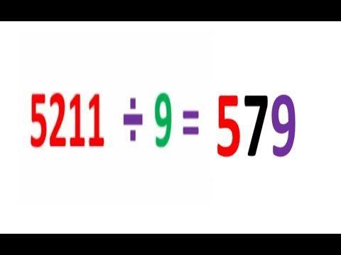 الطريقة السحرية لاجراء عملية القسمة طريقة رائعة وجميلة جدا How To Dividing Numbers Youtube Mathematics Gaming Logos Nintendo Wii Logo