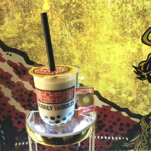 東京cafeめぐり Bubbly Bubbles バブリーバブルス 黄金泡茶 って何 チョコ いちご チョコバナナ タピオカミルクティー