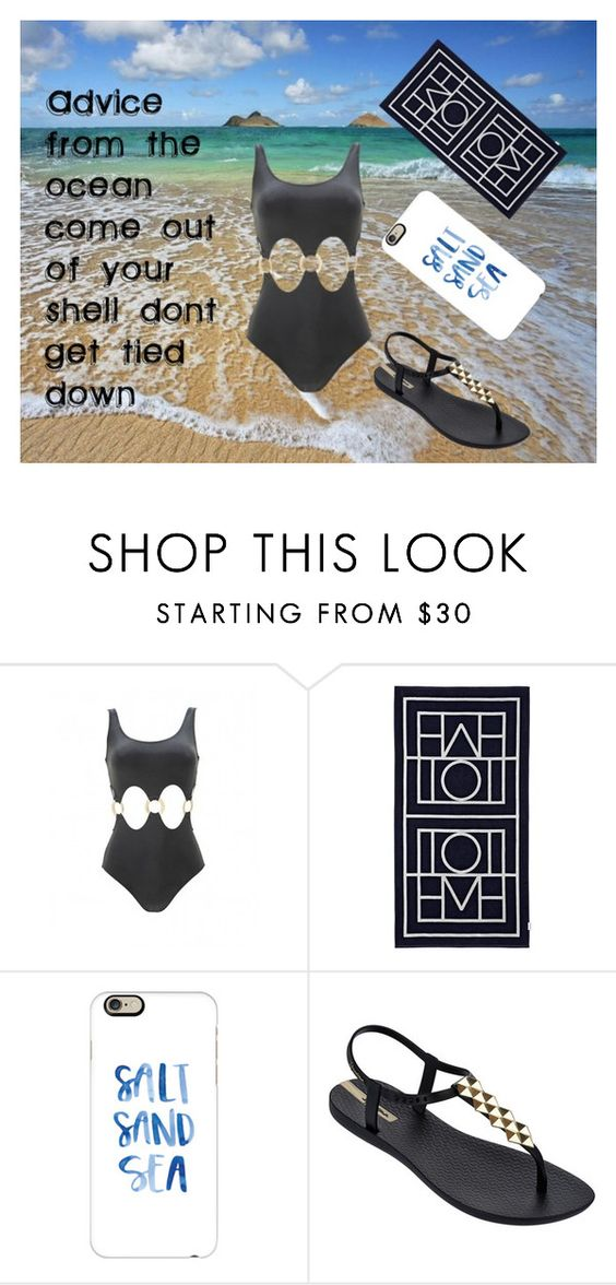 """""""live your life care free"""" by ashfur123 on Polyvore featuring MARA, Biarritz, Casetify, IPANEMA and onepieceswimsuit"""