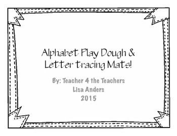 Use these mats to help students form proper letter formations in a fun way. Use play dough snakes to form and trace the letters on the paper. (It is a good idea to laminate these first). Or, after laminating, have students use a think dry erase marker to trace the letters and words.
