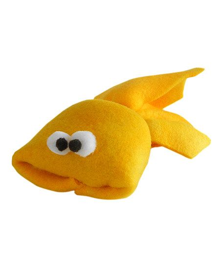 Imperial cat yellow fish cat toy cat toys fish and toys for Fish cat toy