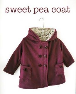 Sweet Pea coat pattern and instructions