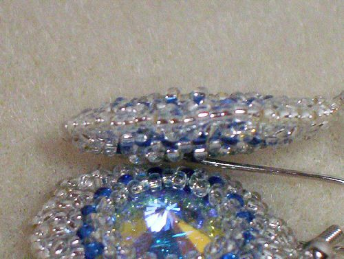 How to Make a Beaded Puff Bezel | General Arts & Crafts | FireHow.com