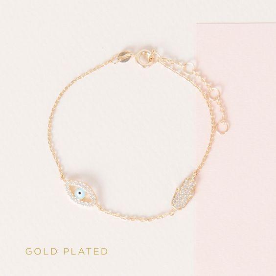 bracelet gold plated collection - Parfois