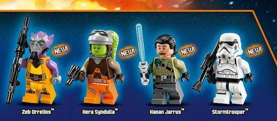Les nouvelles sorties Lego Star Wars 2014 (Calendrier Avent inside…)