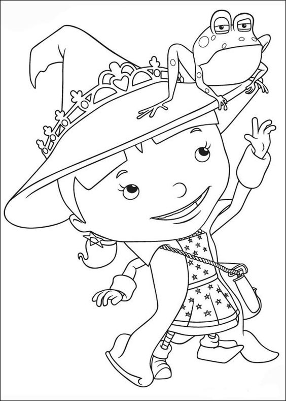 mikes restaurant coloring pages - photo#29
