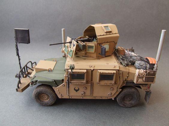M1151A1 w/B1, US Army, OIF - Academy - 1:35