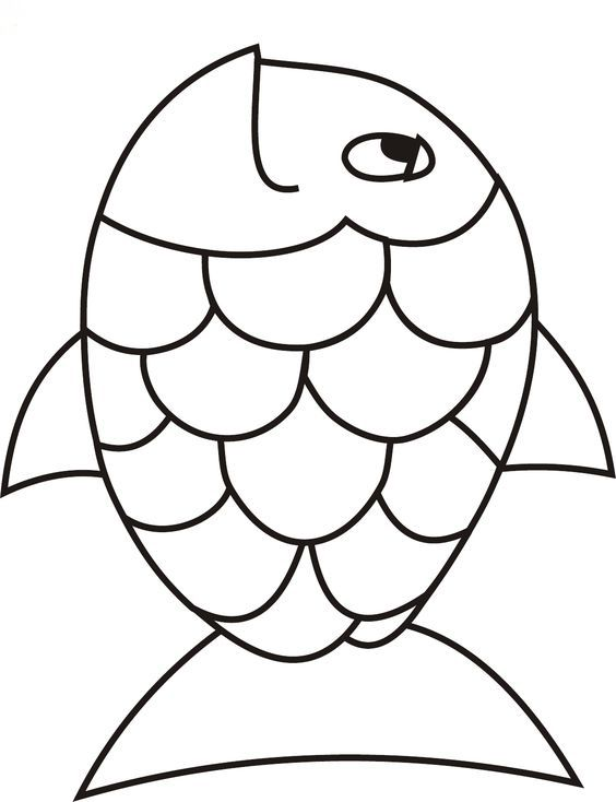 How To Draw A Rainbow Fish : rainbow, Drawing;, Sketch;, Stick, Figure;, Pencil, Drawing;Drawing, Tutorial;, Simple, Basis;, Draw…, Rainbow, Crafts,, Template,, Template