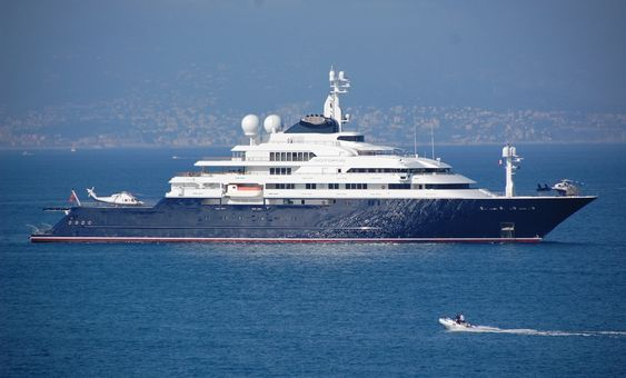 Octopus owned by Paul Allen