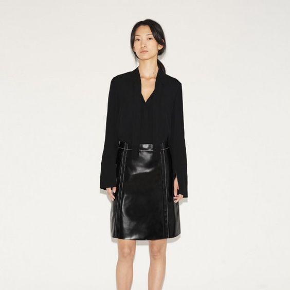 PROENZA SCHOULER -A-Line Skirt -THE SHAPE OF THE SEASON