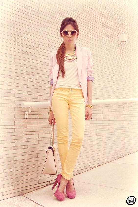 http://fashioncoolture.com.br/2012/10/08/look-du-jour-candy-colours/