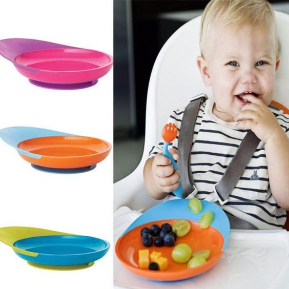 Boon Catch plate is perfect for the self feeding stage. Can use from around 6 months to offer snacks and fruits.Catch plates include suction bases that actually work and stick on.Benefits of this suction base make sure that the plate wont move while the baby is trying to grab the food.It also have a unique…