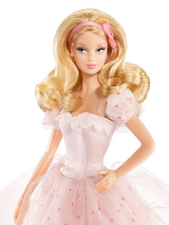 Amazon.com: Birthday Wishes Barbie Doll: Toys & Games