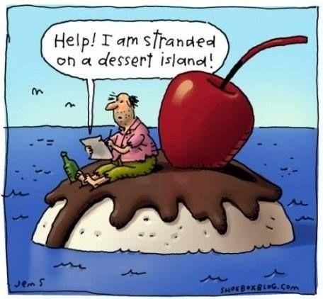 Help I'm stranded on a dessert island.