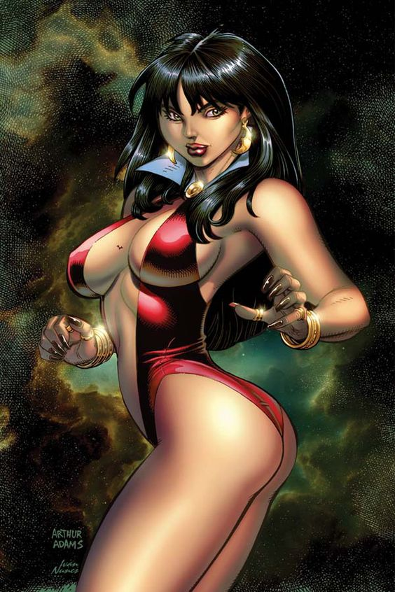 Vampirella: Feary Tales #2 - Show-White Revamped; Thirsty, Thristy Town