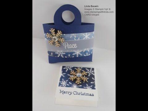 Poignée Oreiller Treat Bag - tampon avec LINDA