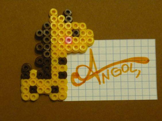 Hama Beads - Giraffe