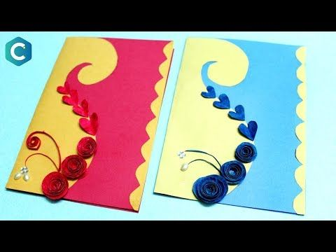 How To Make Customized Greeting Card Latest Greeting Cards Design Greetingcard Diy Card Making Birthday Simple Birthday Cards Beautiful Greeting Cards
