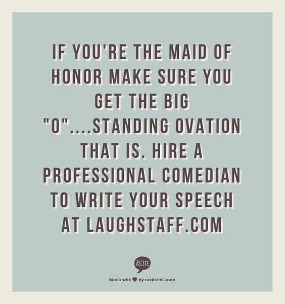 Wedding Quotes For Maid Of Honor Speech: Maid Of Honor, Maids And Things To Do On Pinterest