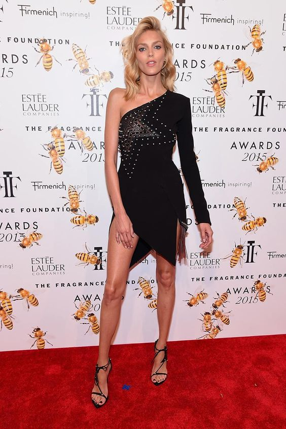 Anja Rubik in Anthony Vaccarello