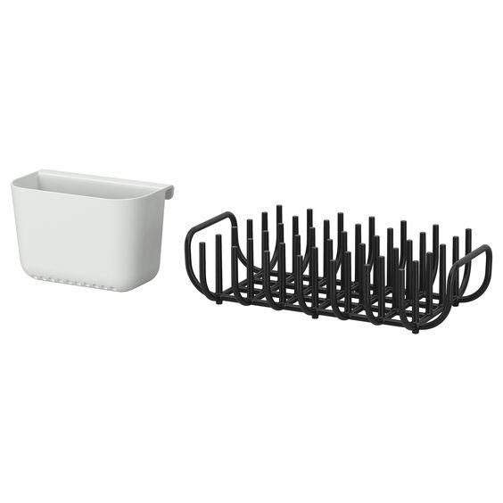 boholmen dish drainer and cutlery basket ikea. Black Bedroom Furniture Sets. Home Design Ideas